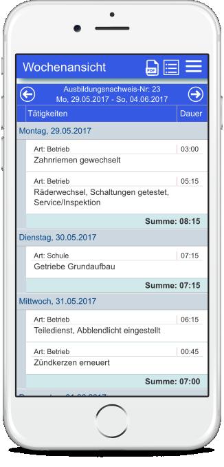 Azubiheft – Das digitale Online Berichtsheft